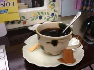 コーヒーごちそうになっちゃいました!